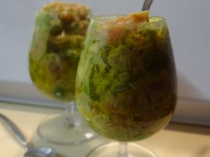 Verrine Avocat Pamplemousse