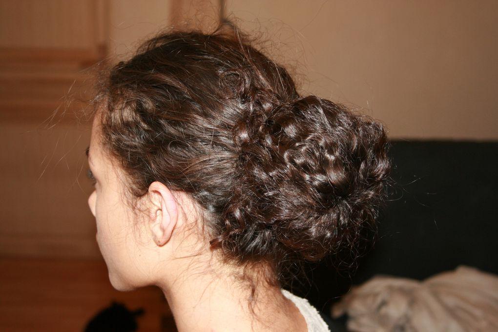 Tuto coiffure : Un chignon bun !