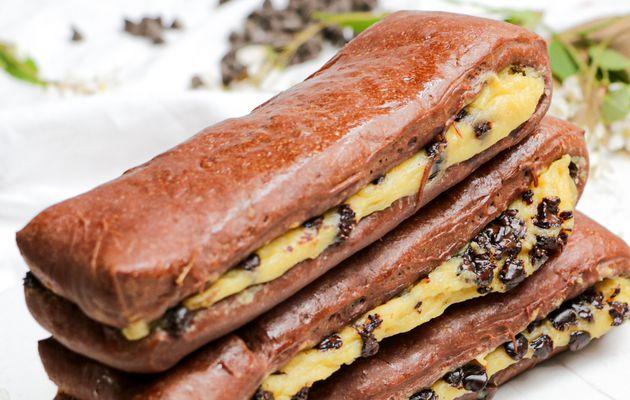 Brioches Suisses Double Chocolat {drops, pattes d'ours}
