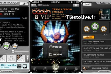 Tiësto Officielle Application iphone & Ipod - info, price, link, photos .....