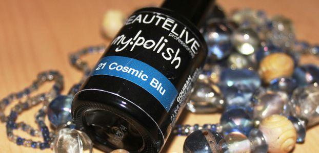 Vernis semi-permanent Cosmic Blue
