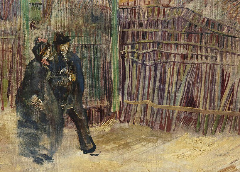 A rare van gogh painting from 1887 will go on public display for the first time
