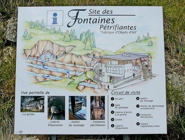 Les fontaines pétrifiantes de saint Nectaire