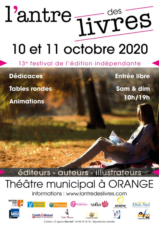 L'antre des livres aura lieu en octobre