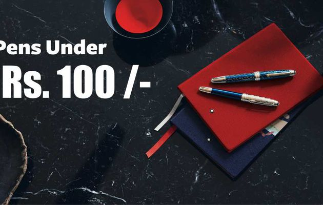 What are the best pens under Rs 100 for Writing?
