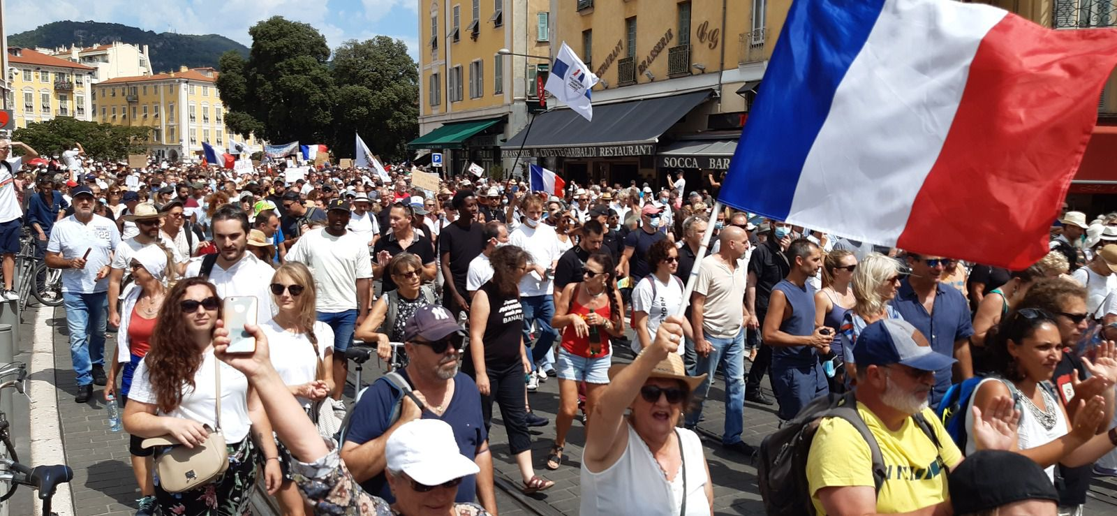 samedi 14h place Garibaldi à Nice