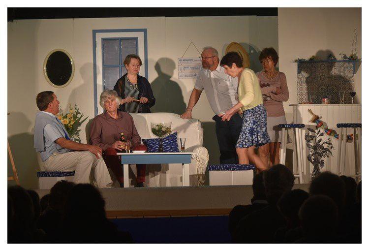 Anneville en Saire, théâtre avec les Sacrebleu