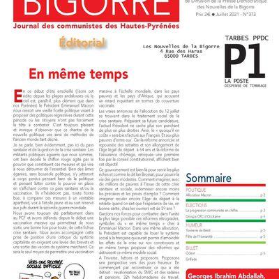 Les Nouvelles de Bigorre - juillet 2021