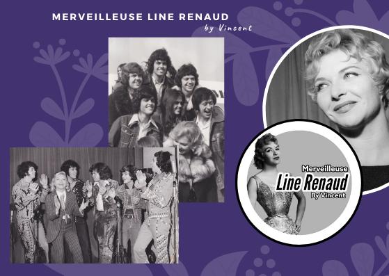 PHOTOS: Line Renaud et The Osmond Brothers (2 photos)