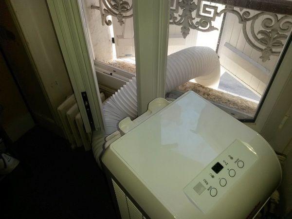 essai climatiseur mobile Inventor cool 8000 BTU @ Tests et Bons Plans