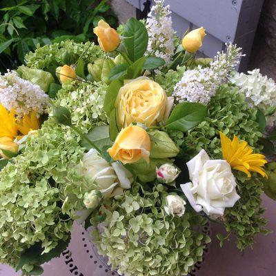 Bouquet de la fin août - Jardinage à Frescati
