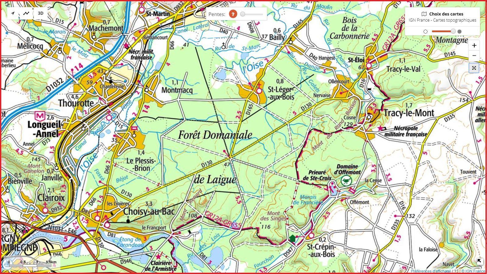 carrefour_Route de la Trouée des Bonshommes_Sentier_2_(parcelle 147)