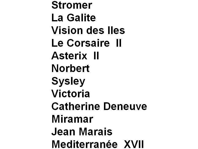 Les Vedettes Passagers - 9