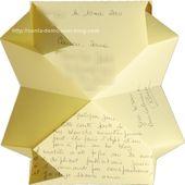 """Fiche technique: Carte articulée origami """"Renée"""" - Créer Soi Même"""