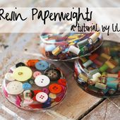 Cast Resin Paperweights & Coasters (A Tutorial)