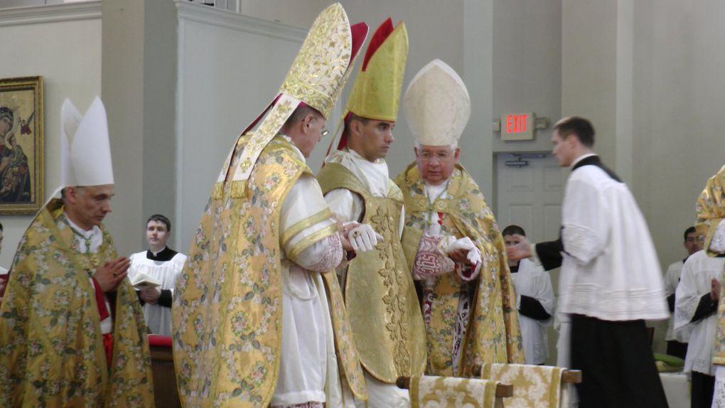 Consécration épiscopale de Mgr Joseph Selway