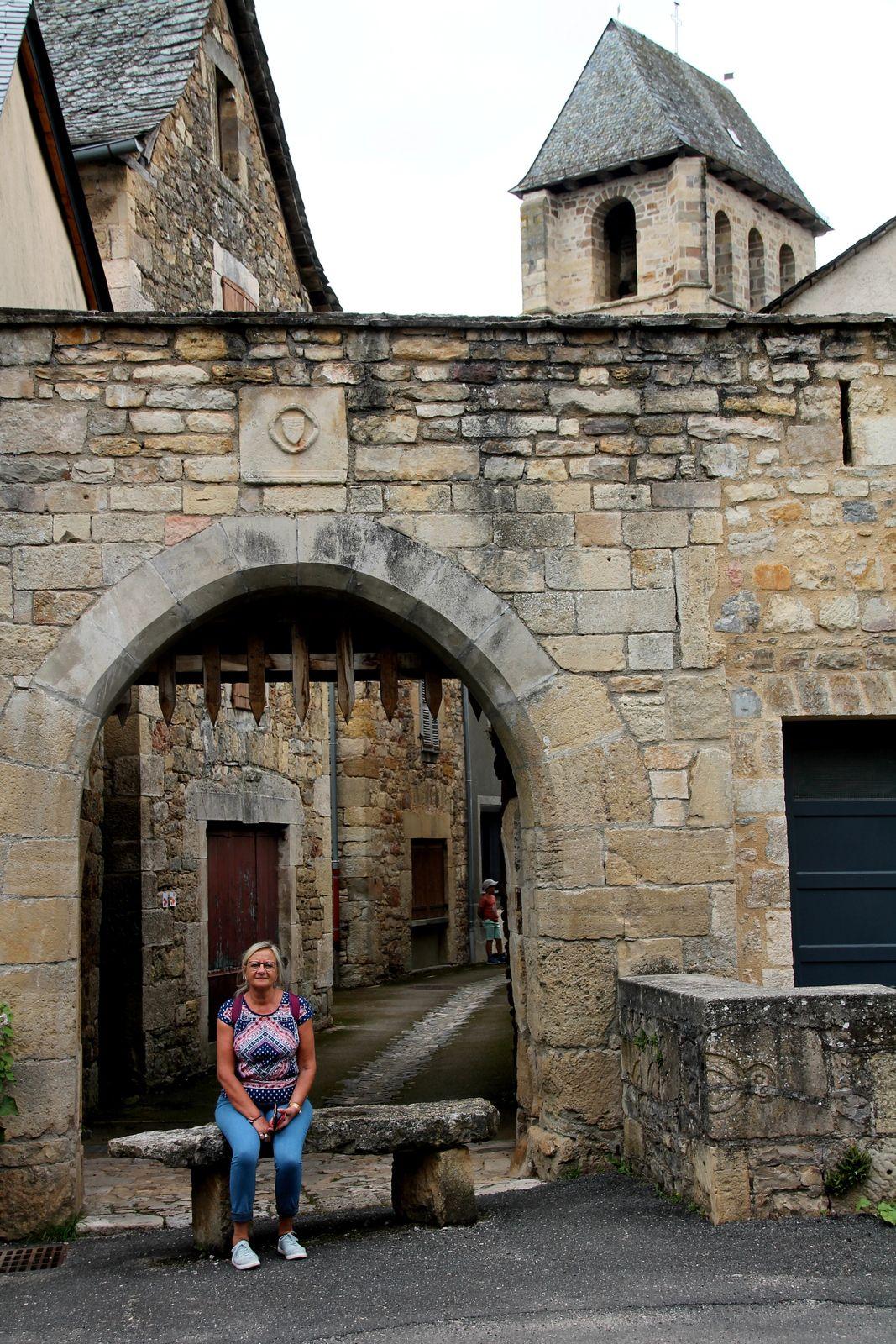 La flaune - balade aveyronnaise à Vimenet, village médiéval
