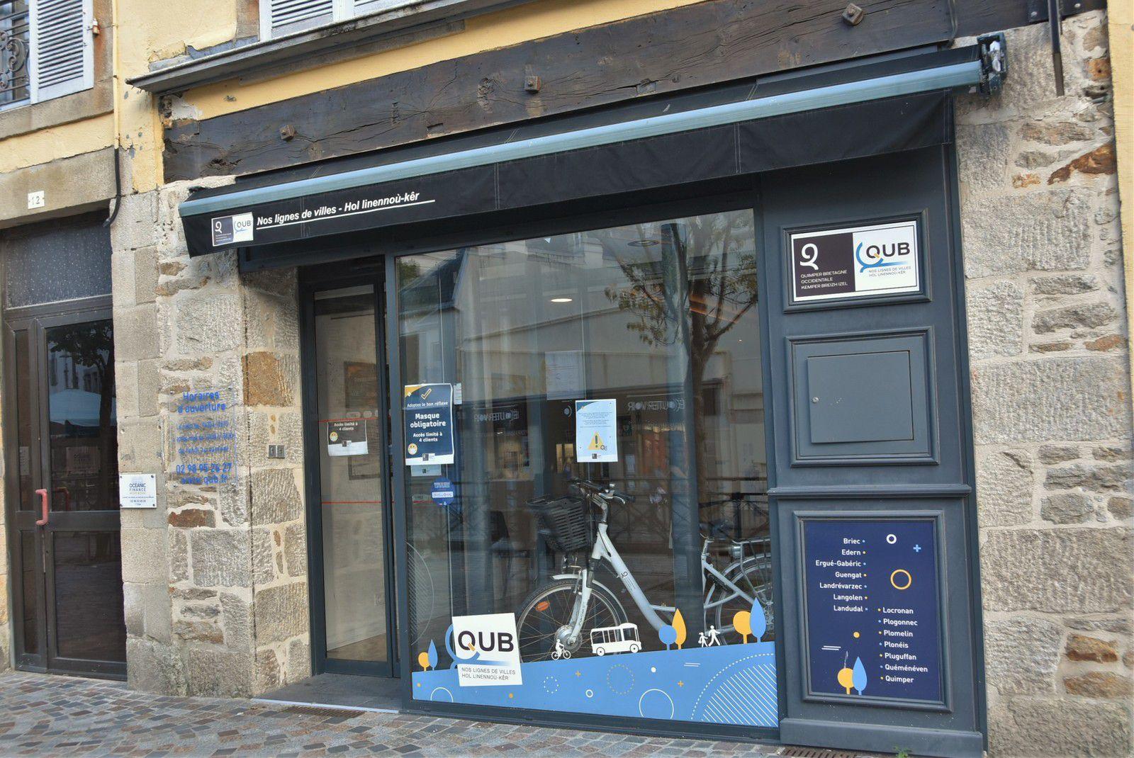 Couvre-feu : Modification des heures d'ouverture de l'agence commerciale  QUB