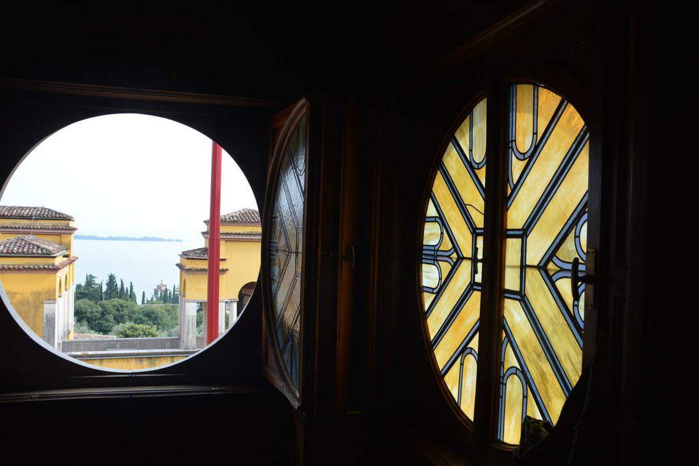 De Salo à Gardone Riviera, dans la propriété de Gabriele D'Annunzio.