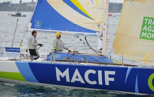 Transat AG2R La Mondiale - Skipper Macif a démâté !