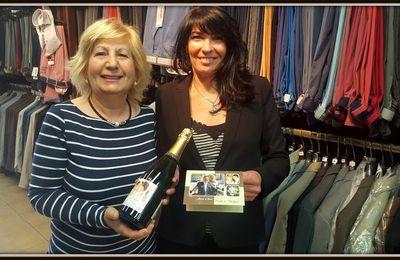 Champagne pour Mme et Mr Vachet-Valaz