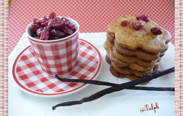 Biscuits aux cranberries