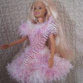 tuto gratuit barbie: robe de fêtes cocon de douceur et d'audace - Chez Laramicelle