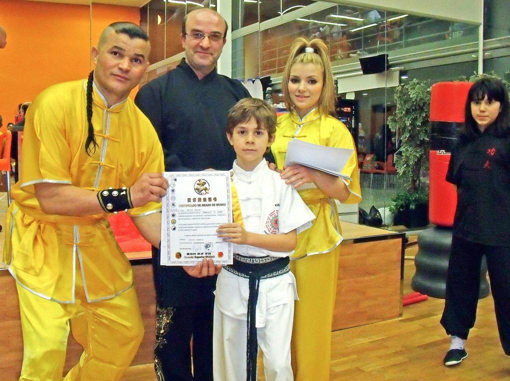 Clases de Wushu Kung Fu Tradicional Shaolin del Sur y Norte. Informate:Tlf; 626 992 139 - matrículas abiertas.  Clases en: Alcala de Henares/ Azuqueca de Henares/ madrid / Guadalajara.  Equipo Maestro Senna 2 veces Campeon del Mundo 7 veces Campeon