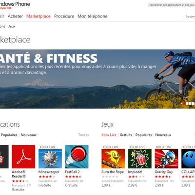 Windows Marketplace version web !