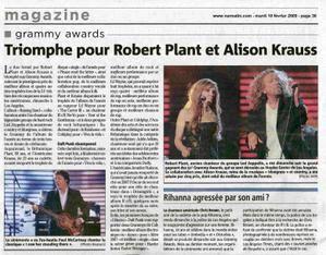 Robert Plant & Alison Krauss Le Triomphe Var Matin