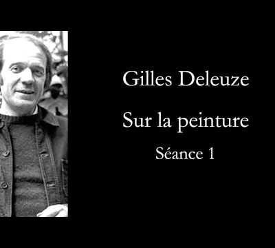 COURS PARIS 8 / Gilles Deleuze, sur la peinture