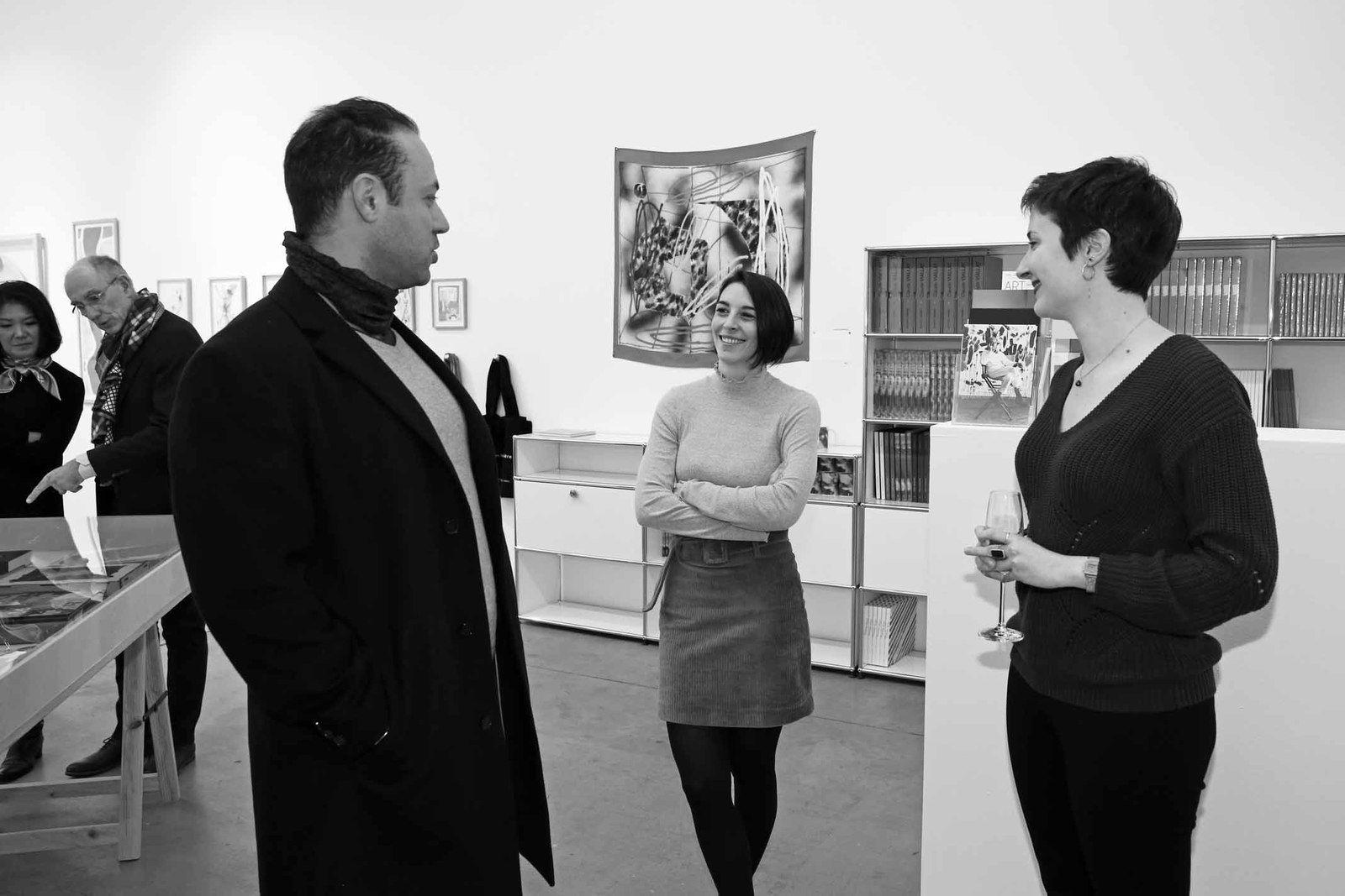 Zine El Abidine Ramdani, Nastasia Hadoux, Domitille Pascal