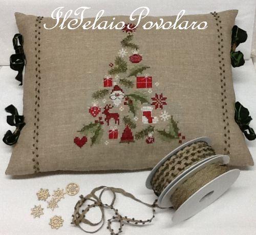 Un cuscino per ogni stagione..  ma sopratutto per Natale