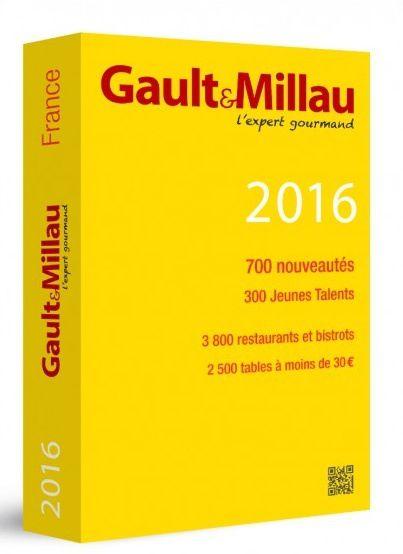 Jeune talent 2016 Gault et Millau pour notre chef David Royer