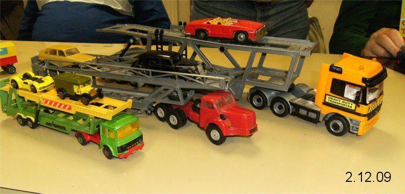 les camions et les mini