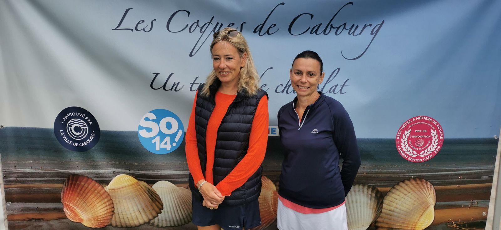 Nathalie Billouin 15/4 Garden Tennis de Cabourg gagne contre Irène Génillon-Fricotelle 15/3 Livarot
