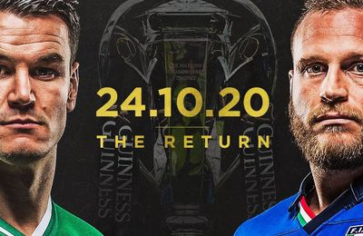 Irlande / Italie (Tournoi 6 Nations) en direct ce samedi sur France 2 !