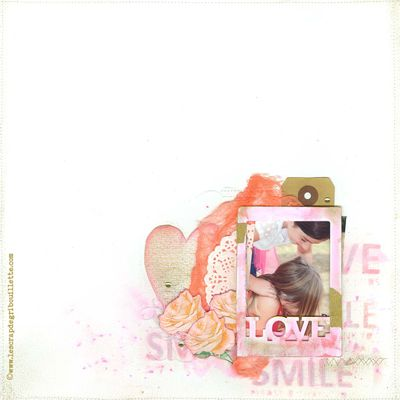 Love and Smile_DT ScrapandCo_Défi Sketch