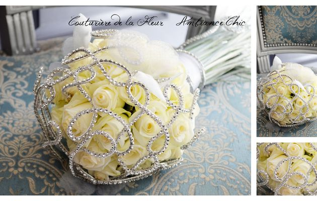 Mariage Baroque Chic   Kit mariage   Fleuriste mariage Montpellier
