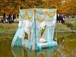 FIAC 09: Vincent Olinet et la princesse absente, aux Tuileries