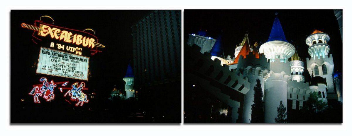 New LAS VEGAS, l'Hotel EXCALIBUR et son Dragon