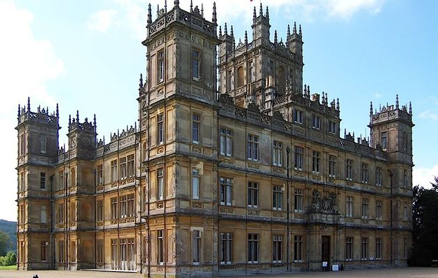 Downton Abbey, une série de la BBC.