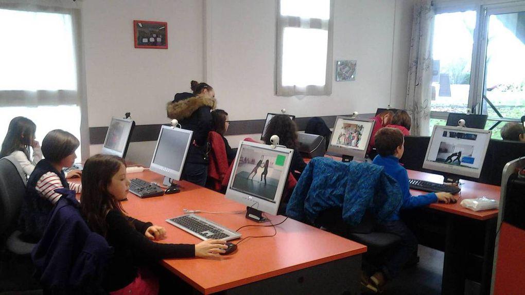 Les élèves de CE1, séance TAP du 23 novembre