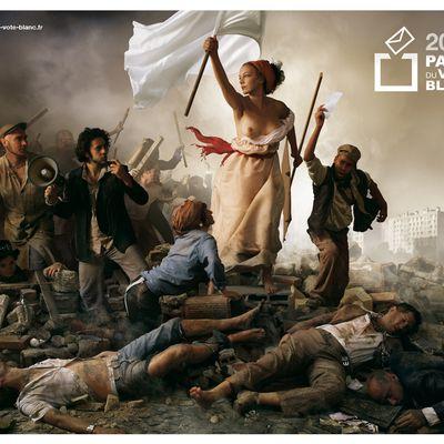 le vote blanc vu par un descendant de Delacroix