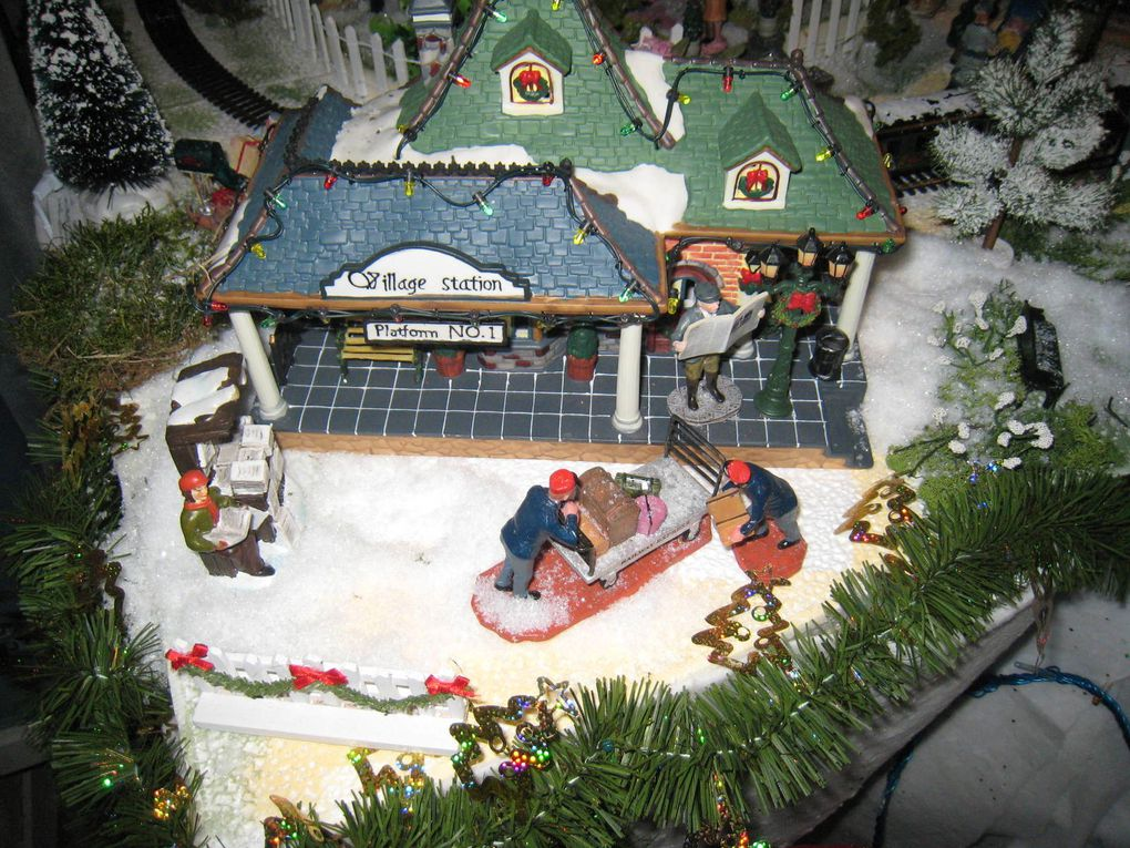 Mon village de Noel - année 2009