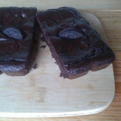 Brownie Oréo d'HealthyMalo
