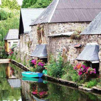 """Pontrieux : La petite cité de caractère surnommée """"la petite Venise du Tregor"""""""