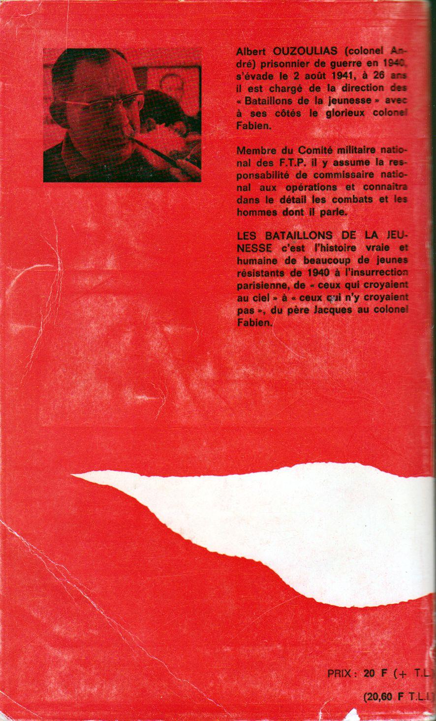 Les Bataillons de la Jeunesse - Albert Ouzoulias