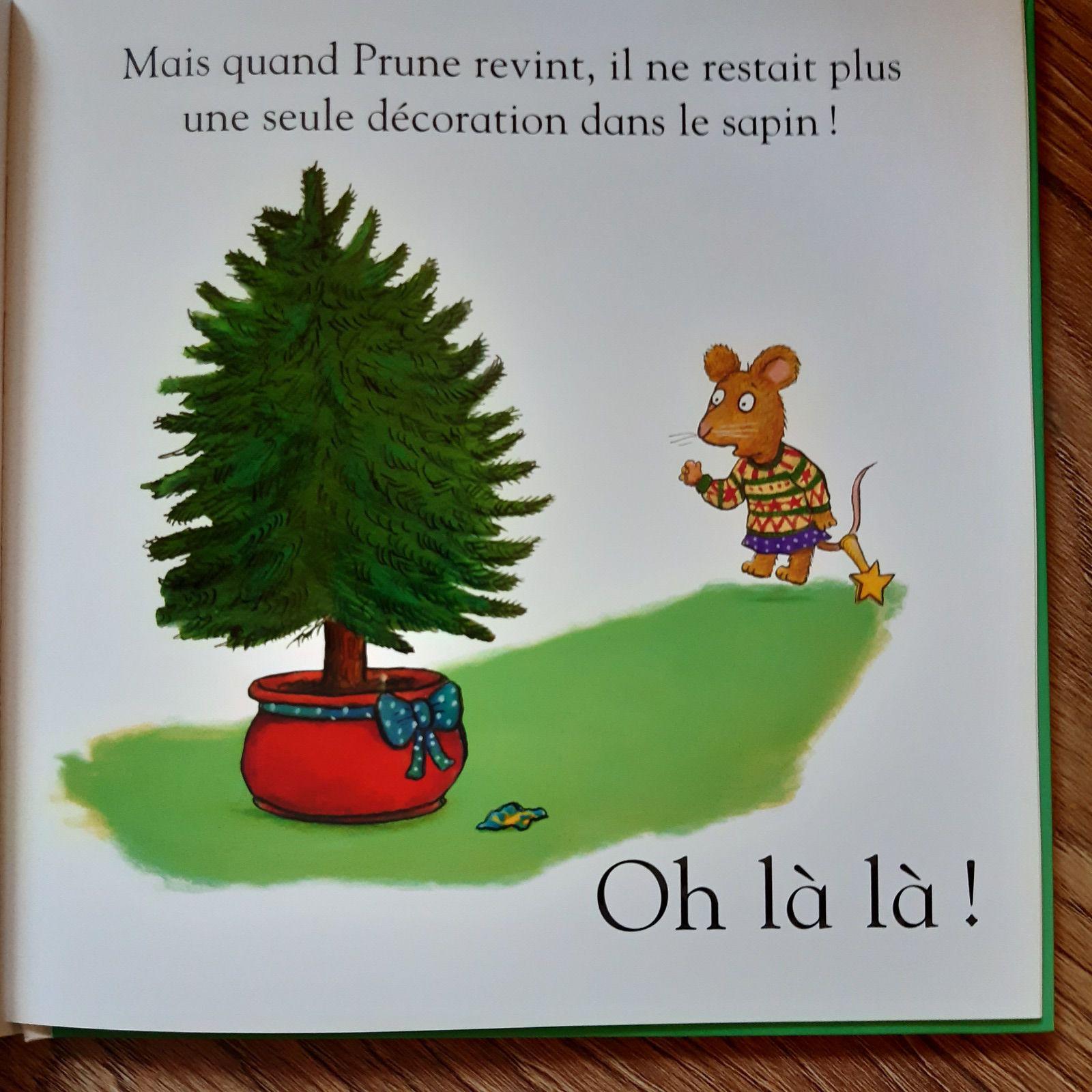Pip et Prune, le sapin de Noël