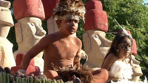 Île de Pâques : le festival du Tapati à Rapa Nui.